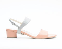 Blush Sandal + Elsie in Mist Grey