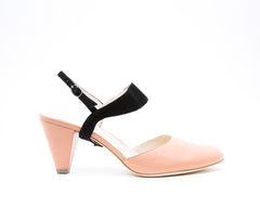 Blush Mule + Elsie in Black