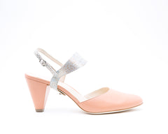 Blush Mule + Elsie in Stingray