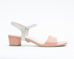 Blush Sandal + Jackie in Cream