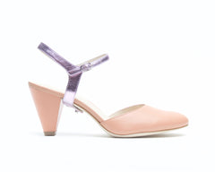 Blush Mule + Jackie in Lilac