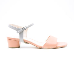 Blush Sandal + Jackie in Mist Grey