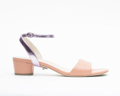 Blush Sandal + Marilyn in Lilac