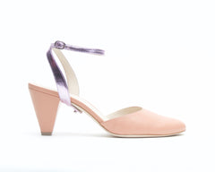 Blush Mule + Marilyn in Lilac