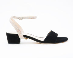 Black Sandal + Marilyn in Stingray