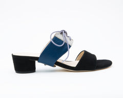 Black Sandal + Tilda in Evening Sky