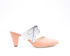 Blush Mule + Tilda in Cream/Stingray