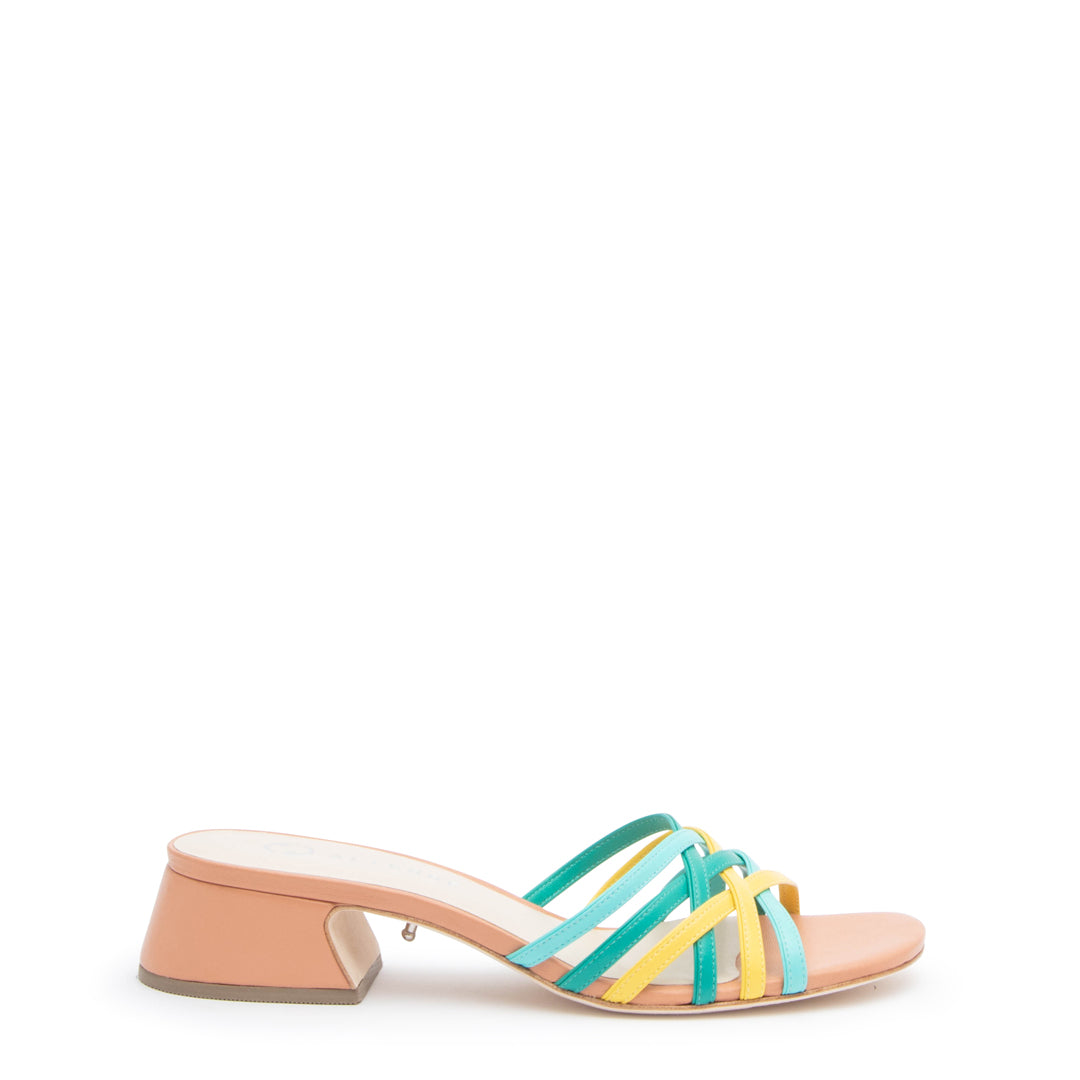 Blush Multi Bell Sandal
