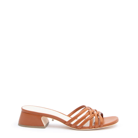 Cognac Bell Sandal Customized Sandals | Alterre Interchangeable Sandals - Sustainable Footwear & Ethical Shoes