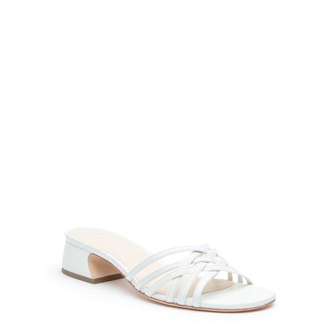 White Bell Sandal Custom Sandals | Alterre Make A Shoe - Sustainable Shoes & Ethical Footwear