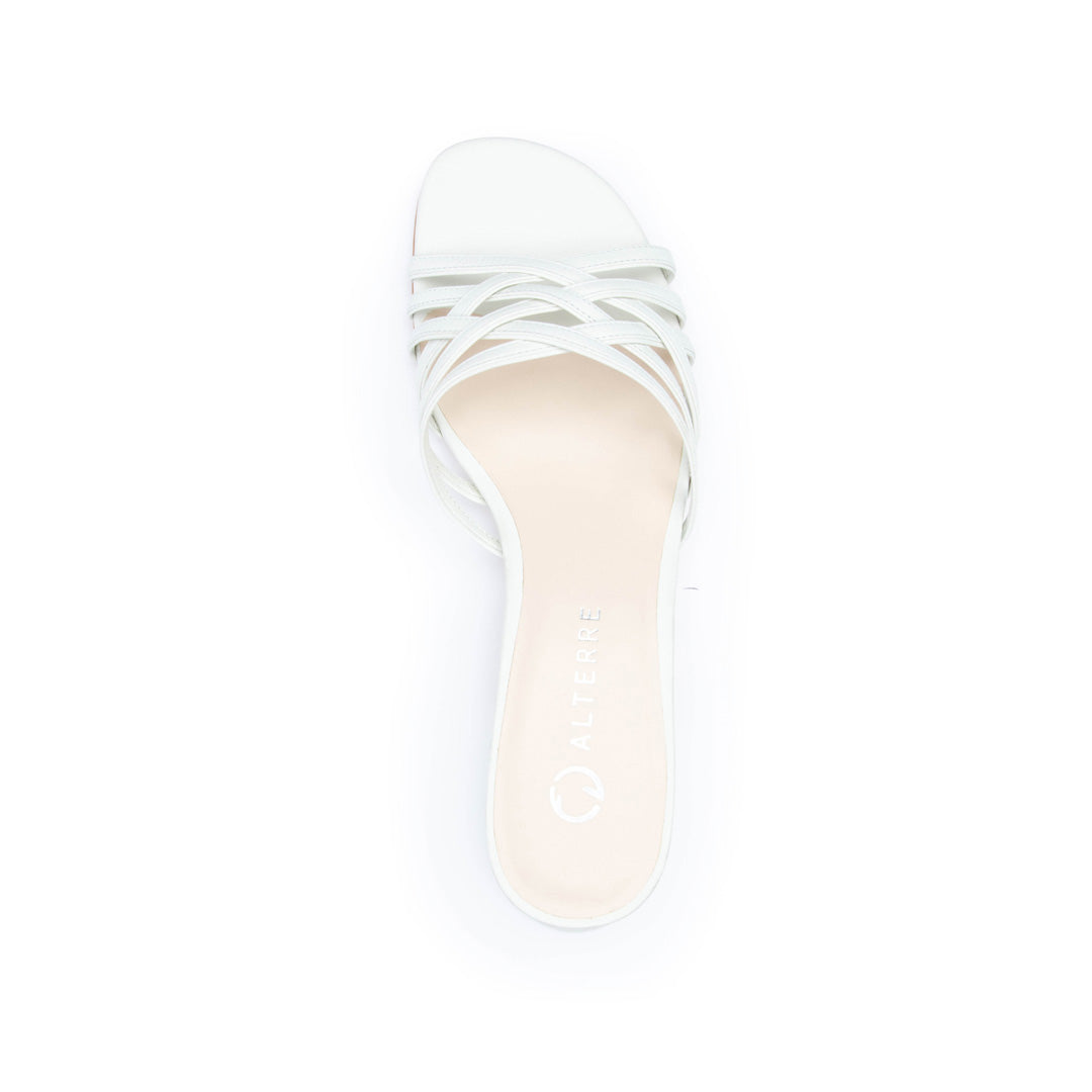 White Bell Sandal Shoe Bases with Changeable Tops | Alterre Make Your Own Shoes - Sustainable Shoes & Ethically-Made Shoes