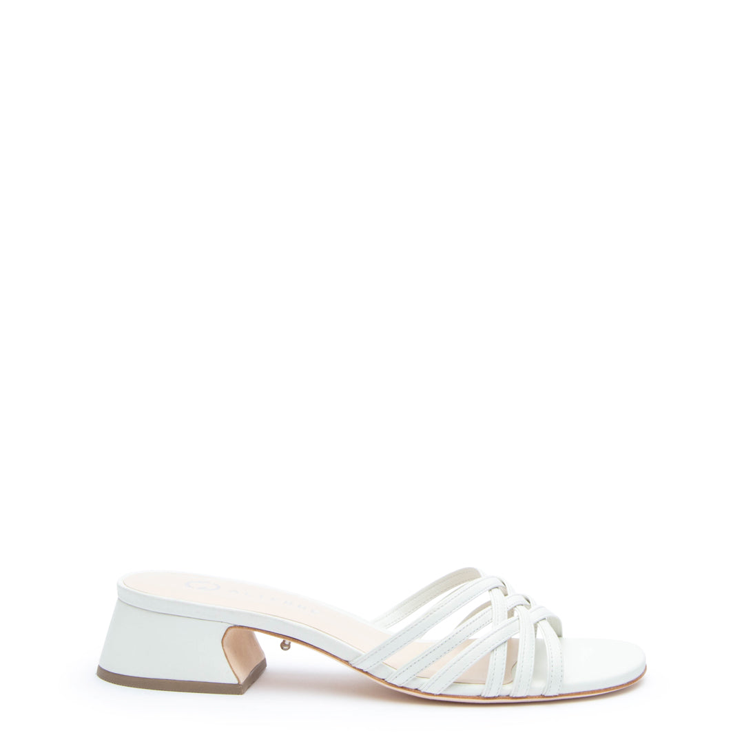 White Bell Sandal Customized Sandals | Alterre Interchangeable Sandals - Sustainable Footwear & Ethical Shoes