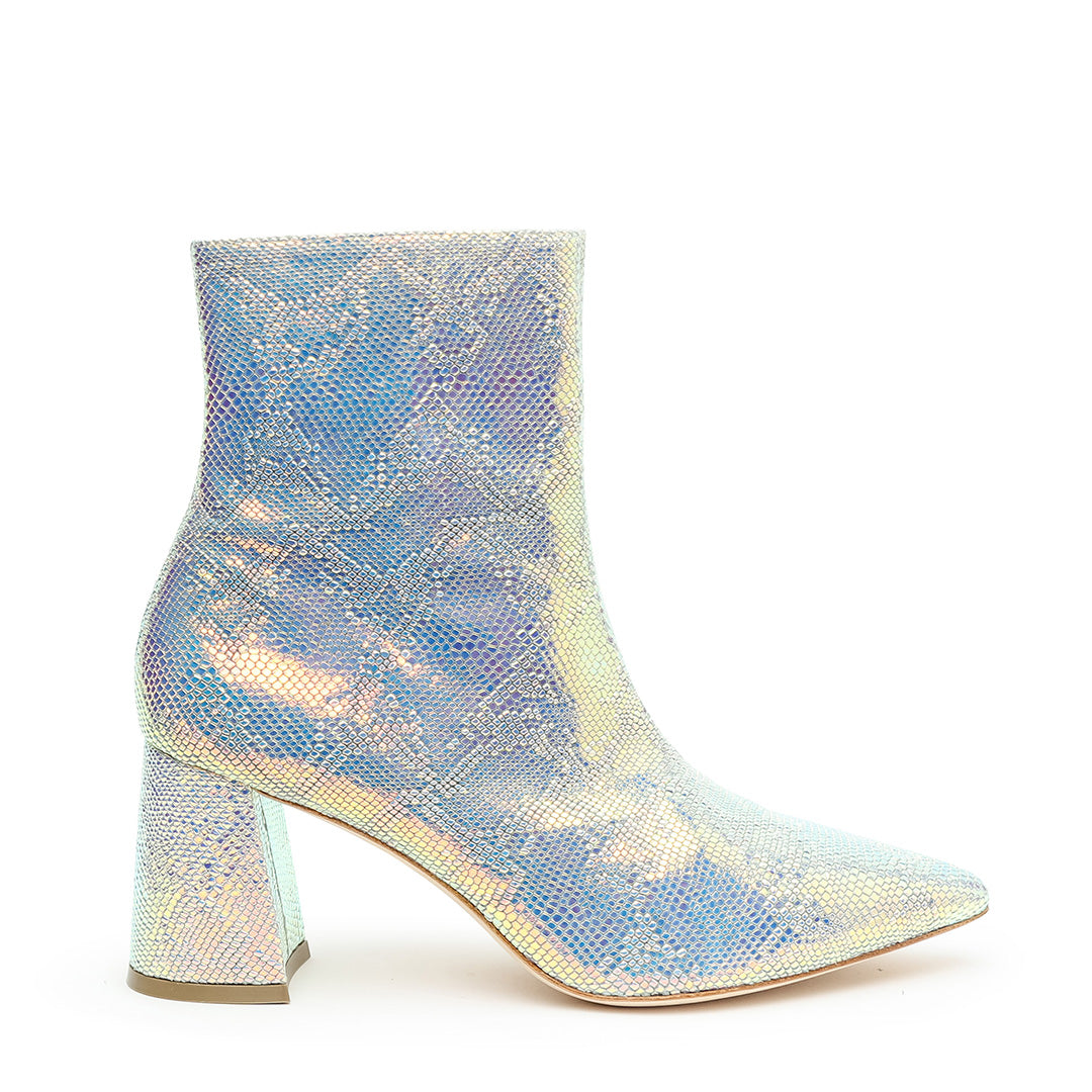 Shiny Snake Print Customized Boots | Alterre Interchangeable Boots - Sustainable Shoes & Ethical Footwear