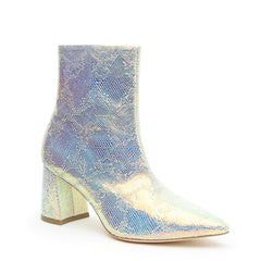 Shiny Snake Print Boot Custom Boots | Alterre Make A Shoe - Sustainable Footwear & Ethical Shoes