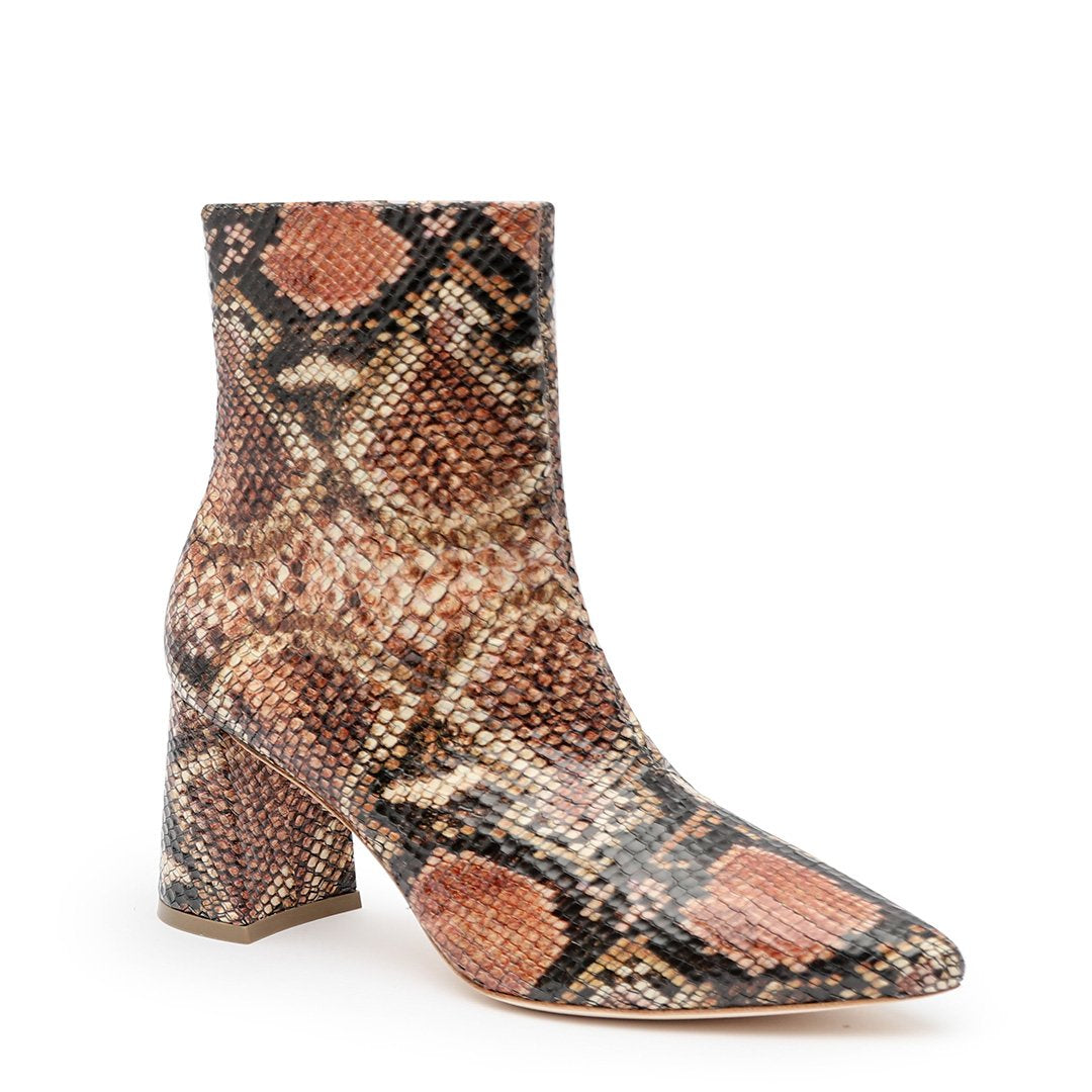 Snake Print Boot Custom Boots | Alterre Make A Shoe - Sustainable Footwear & Ethical Shoes