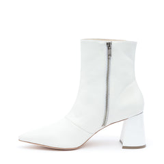 White Boot Boots with Interchangeable Straps | Alterre Build Your Own Shoe - Sustainable Shoe Company & Ethical Footwear Brand