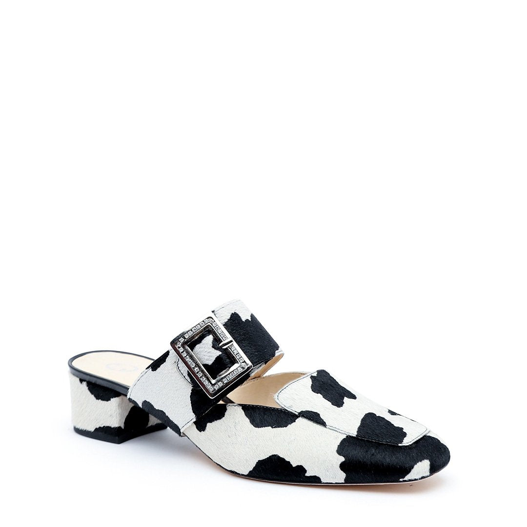 Cow Print Custom Loafer + Grace Strap | Alterre Make A Shoe - Sustainable Footwear & Ethical Shoes