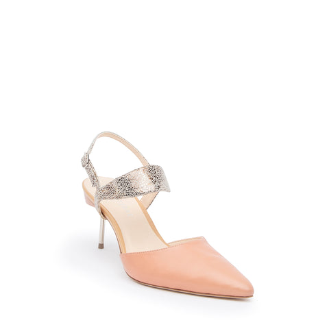 Blush Stiletto + Broken Mirror Elsie Custom Stilettos | Alterre Make A Shoe - Sustainable Shoes & Ethical Footwear