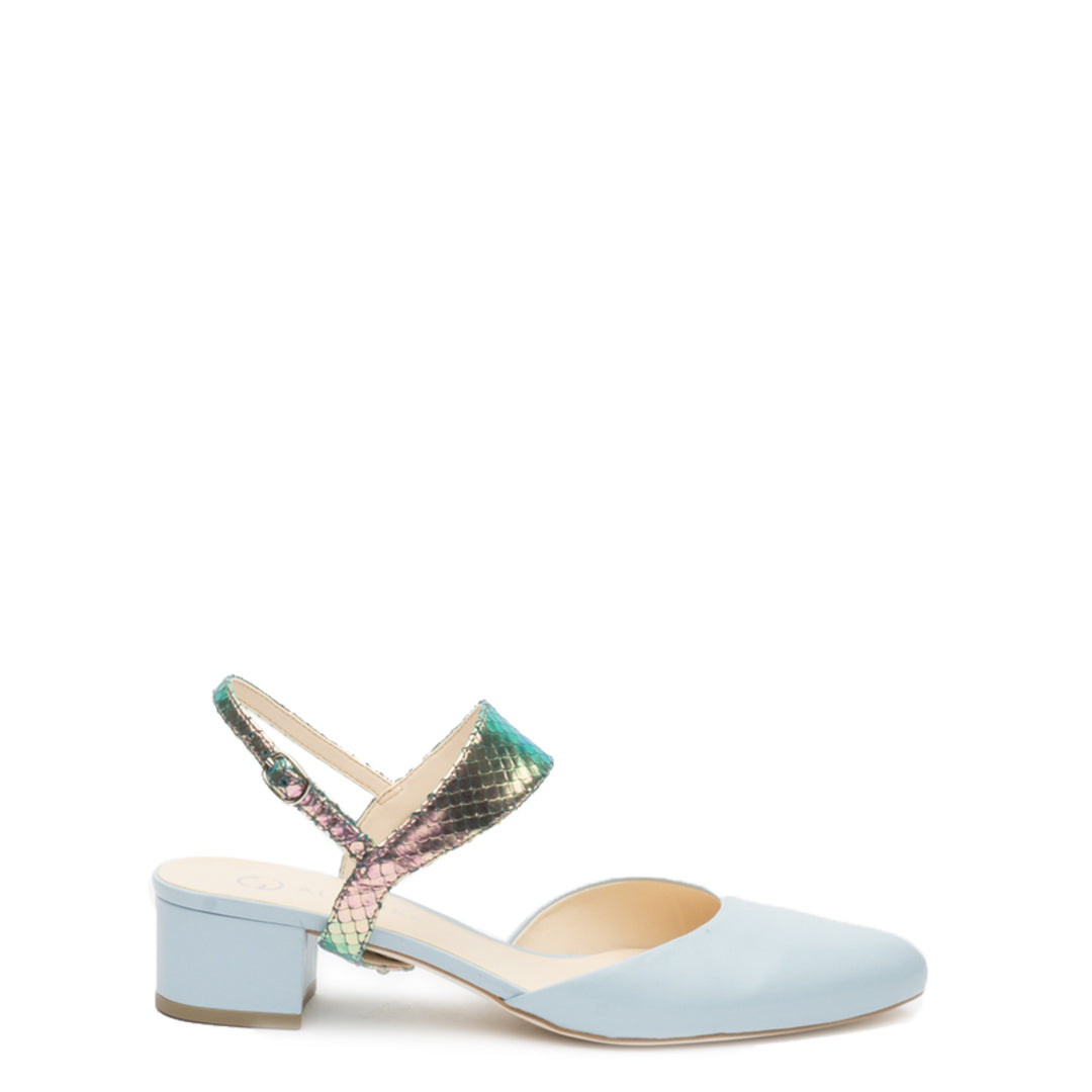 Elsie in Mermaid Personalized Womens Shoe Straps | Alterre Create Your Own Shoe - Sustainable Shoe Brand & Ethical Footwear Company