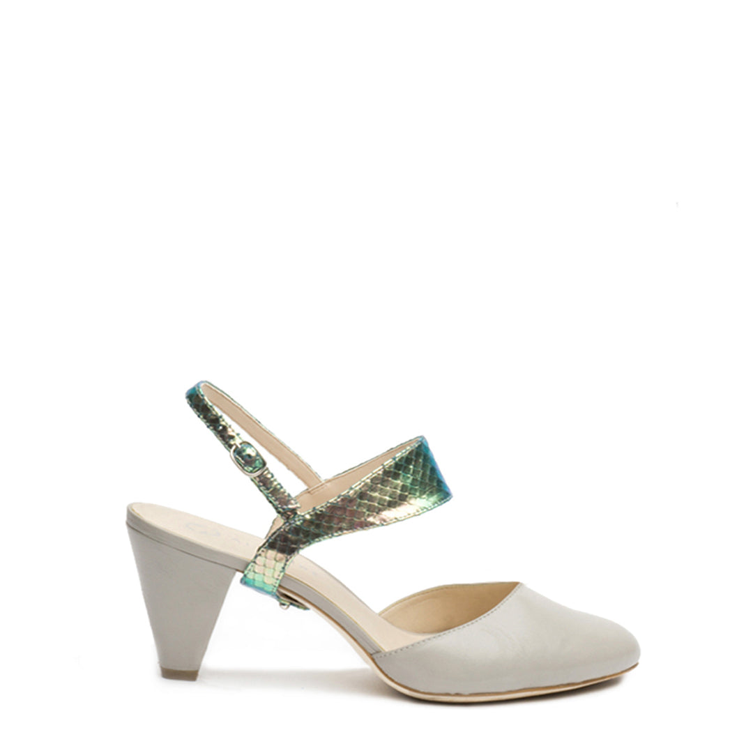 Elsie in Mermaid Interchangeable Straps for Shoes | Alterre Build Your Own Shoe - Sustainable Shoe Company & Ethical Footwear Brand