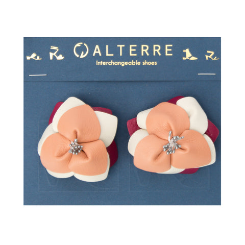 Flower Accessories Customized Shoe Accessories | Alterre Interchangeable Shoes - Sustainable Footwear & Ethical Shoes