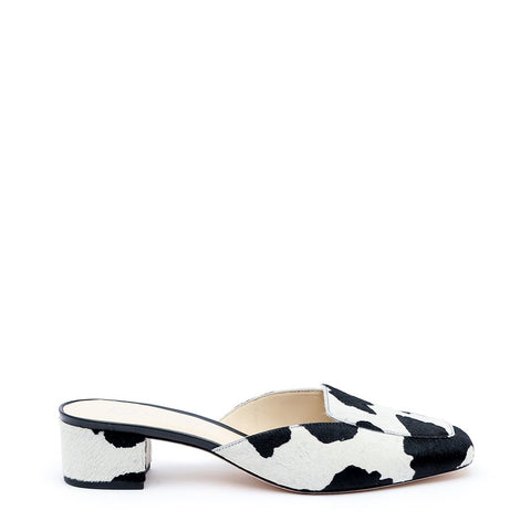 Cow Print Customized Loafer | Alterre Interchangeable Loafers - Sustainable Shoes & Ethical Footwear