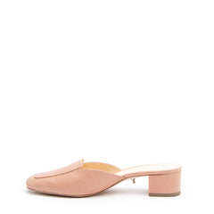 Rose Clay Loafer Shoes with Interchangeable Bases | Alterre Build Your Own Shoe - Sustainable Shoe Company & Ethical Footwear Brand
