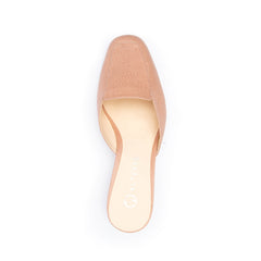 Rose Clay Loafer Shoe Bases with Changeable Tops | Alterre Make Your Own Shoes - Sustainable Shoes & Ethically-Made Shoes