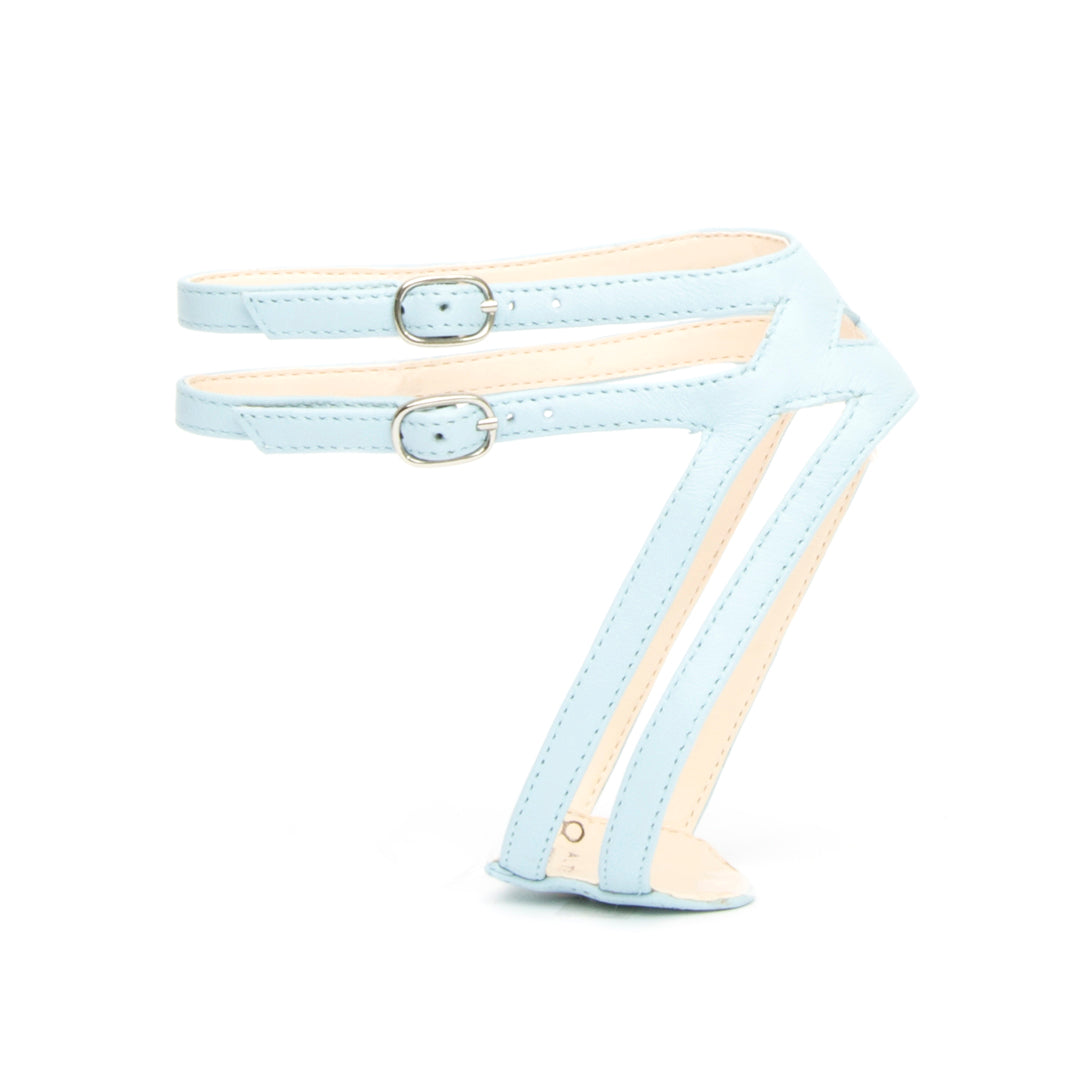 Lozen in Agate Blue Customized Shoe Straps | Alterre Interchangeable Shoes - Sustainable Footwear & Ethical Shoes