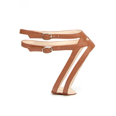Lozen in Cognac Customized Shoe Straps | Alterre Interchangeable Shoes - Sustainable Footwear & Ethical Shoes