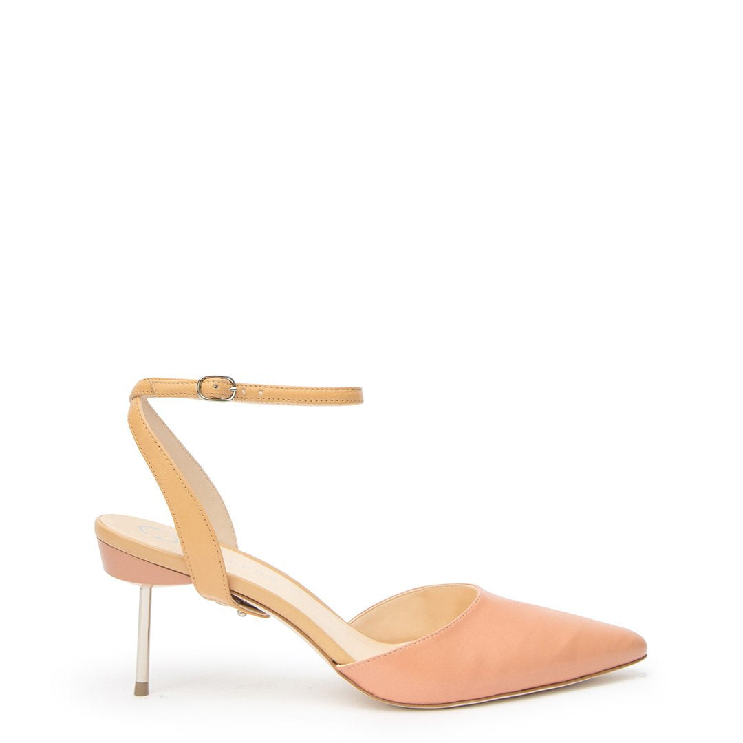 Blush Stiletto + Nude Marilyn Customized Stilettos | Alterre Interchangeable Stilletos - Sustainable Footwear & Ethical Shoes