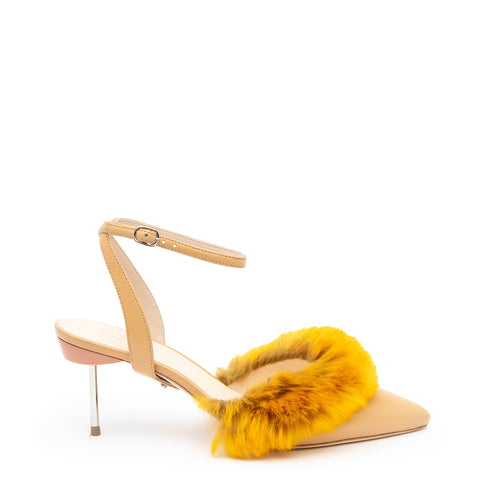 Marilyn in Nude Custom Shoe Straps | Alterre Make A Shoe - Sustainable Shoes & Ethical Footwear