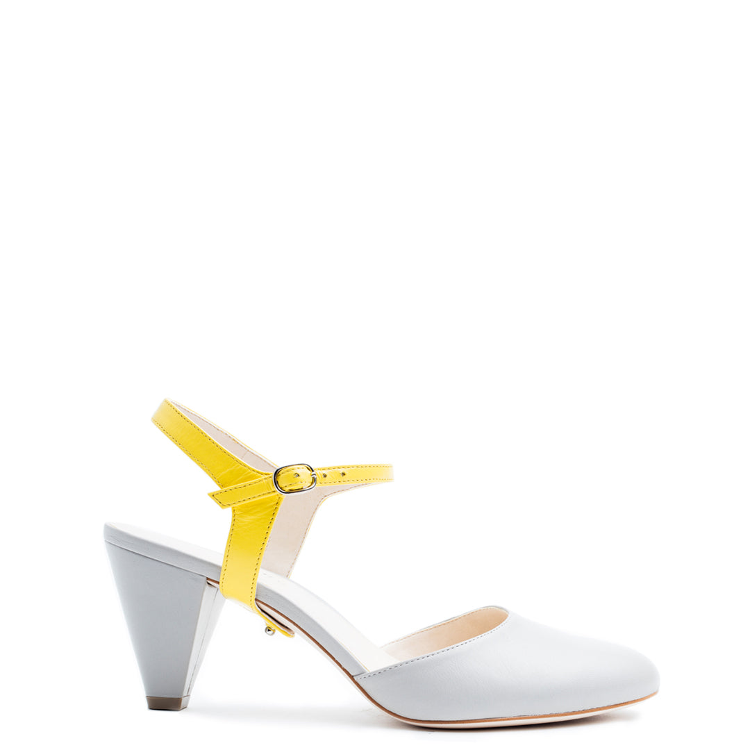 Jackie in Sunshine Interchangeable Straps for Shoes | Alterre Build Your Own Shoe - Sustainable Shoe Company & Ethical Footwear Brand