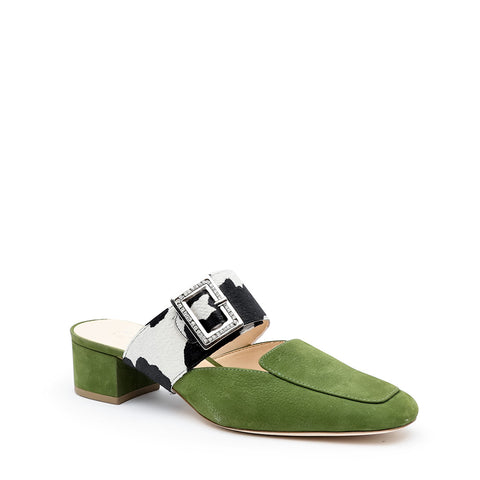 Moss Loafer + Cow Grace Custom Womens Loafers | Alterre Make A Shoe - Sustainable Shoes & Ethical Footwear