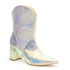 Customizable 2-in-1 Opal Snake Boot + Oakley Strap | Alterre Make A Boot - Sustainable Shoes & Ethical Footwear