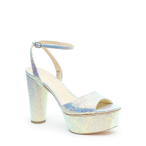 Opal Snake Platforms + Marilyn Customizable Strap | Alterre Make A High Heel - Sustainable Shoes & Ethical Footwear