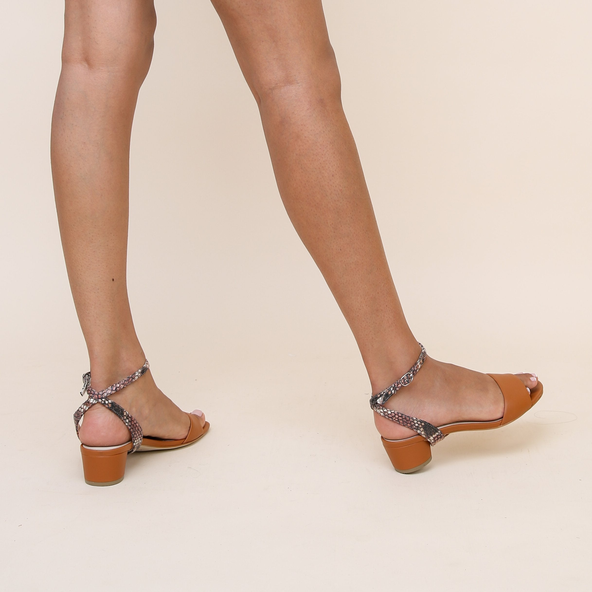 Marilyn in Rosy Boa Custom Shoe Straps | Alterre Make A Shoe - Sustainable Shoes & Ethical Footwear