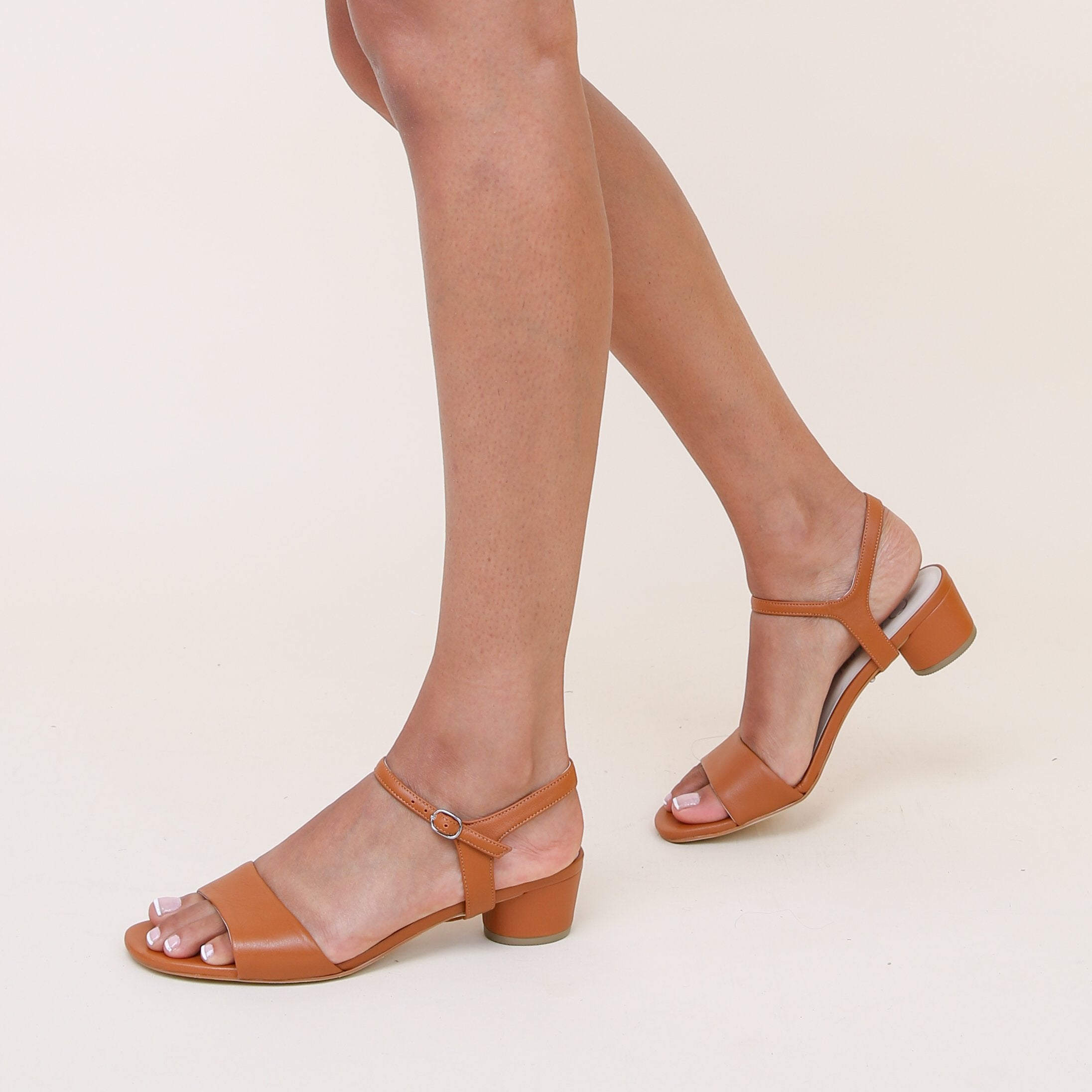 Brown Personalized Womens Sandals + Jackie Strap | Alterre Create Your Own Sandal - Sustainable Footwear Brand & Ethical Shoe Company