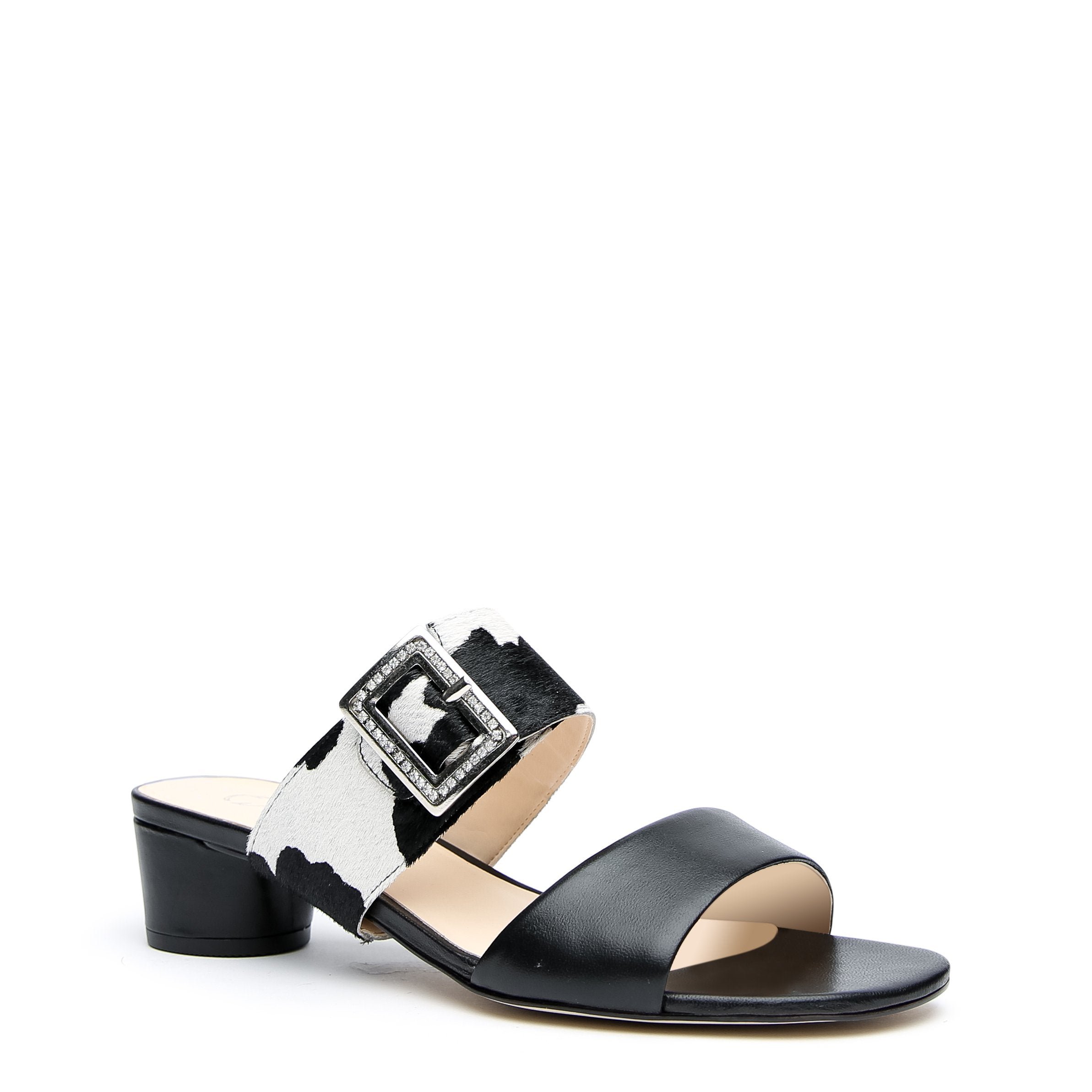 Black Custom Sandals + Cow Grace Strap | Alterre Make A Sandal - Sustainable Footwear & Ethical Shoes
