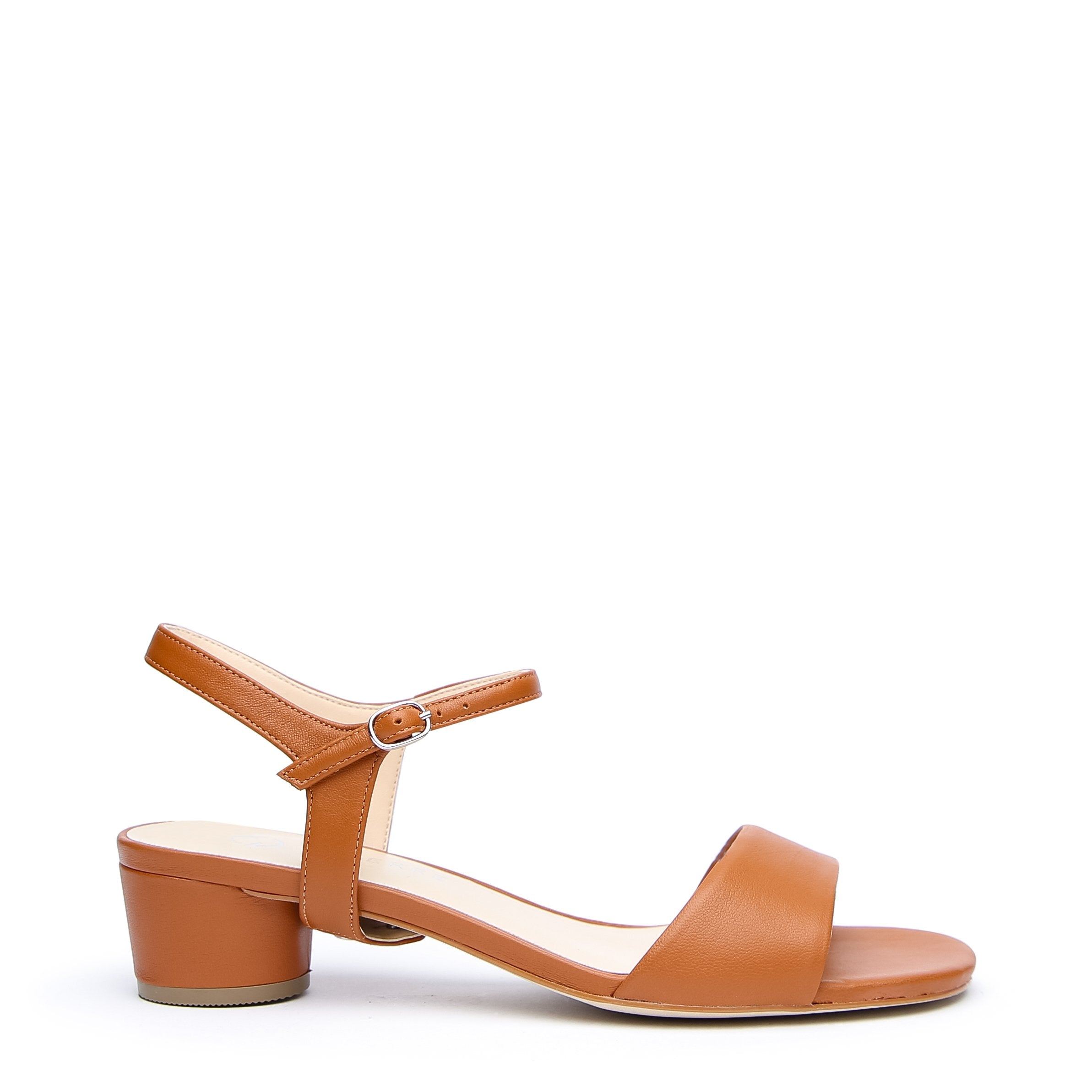 Brown Customized Sandals + Jackie Strap | Alterre Interchangeable Sandals - Sustainable Footwear & Ethical Shoes
