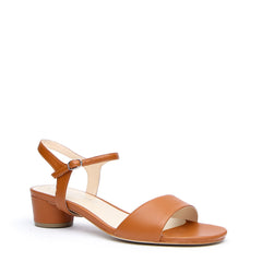 Brown Customizable Sandals + Jackie Strap | Alterre Make A Sandal - Sustainable Footwear & Ethical Shoes