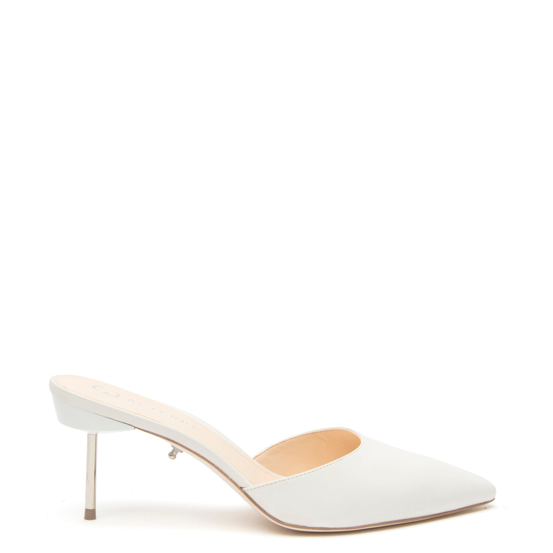 White Stiletto Customized Shoe Bases | Alterre Interchangeable Shoes - Sustainable Footwear & Ethical Shoes