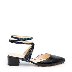 Tomoe in Cosmic Splatter Interchangeable Straps for Shoes | Alterre Build Your Own Shoe - Sustainable Shoe Company & Ethical Footwear Brand