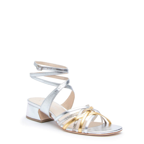 Silver Bell Sandal + Tomoe Custom Sandals | Alterre Make A Shoe - Sustainable Shoes & Ethical Footwear