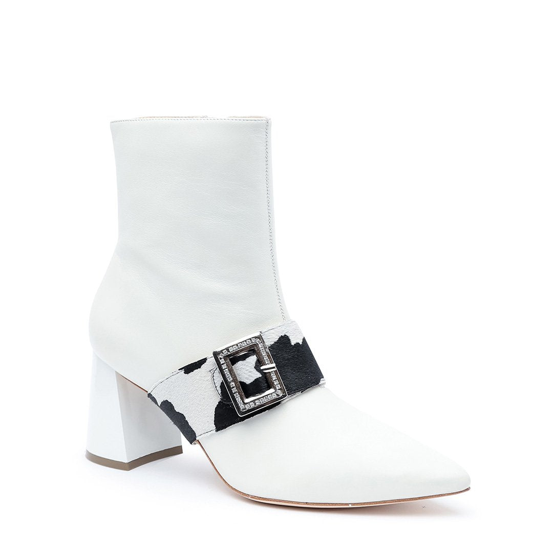 Customizable 2-in-1 White Boot + Cow Grace | Alterre Make A Boot - Sustainable Shoes & Ethical Footwear
