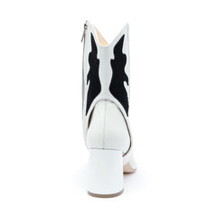 White/Black Personalized Womens Boots | Alterre Create Your Own Boot - Sustainable Footwear Brand & Ethical Shoe Company