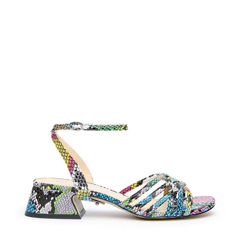Acid Snake Customizable Sandal + Marilyn Strap | Alterre Interchangeable Shoes - Sustainable Footwear & Vegan Shoes