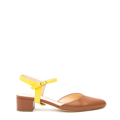 Jackie in Sunshine Custom Shoe Straps | Alterre Make A Shoe - Sustainable Shoes & Ethical Footwear