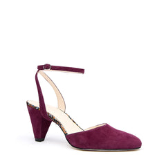 Purple Suede Mule + Purple Suede Marilyn