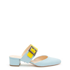 Agate Blue Slide + Grace Customized Slide Sandals | Alterre Interchangeable Slides - Sustainable Footwear & Ethical Shoes